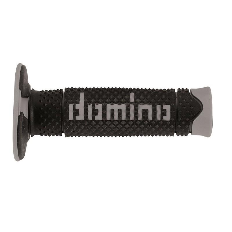 Puños off road Domino DSH azul/blanco